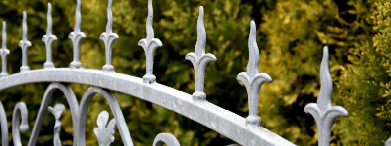 Cancello Iron Steel