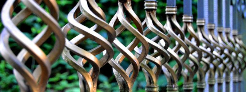 Iron Steel Cancello