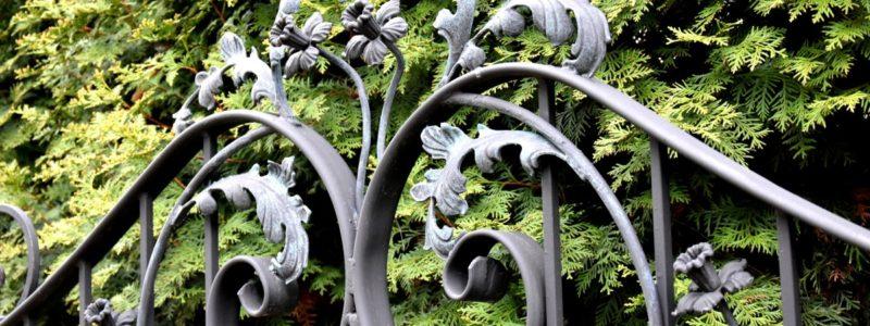Iron Steel Cancello in ferro